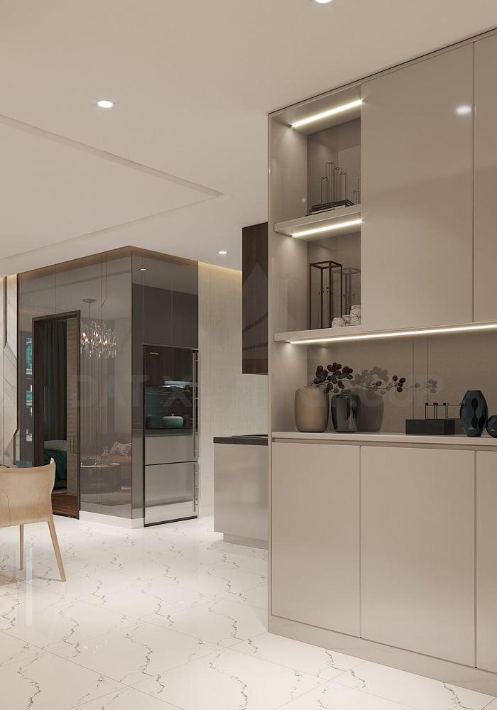 Phòng bếp - căn 2PN | Opal Skyline