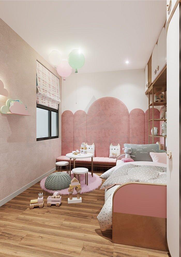 Phòng ngủ trẻ em - căn 2PN | Opal Skyline