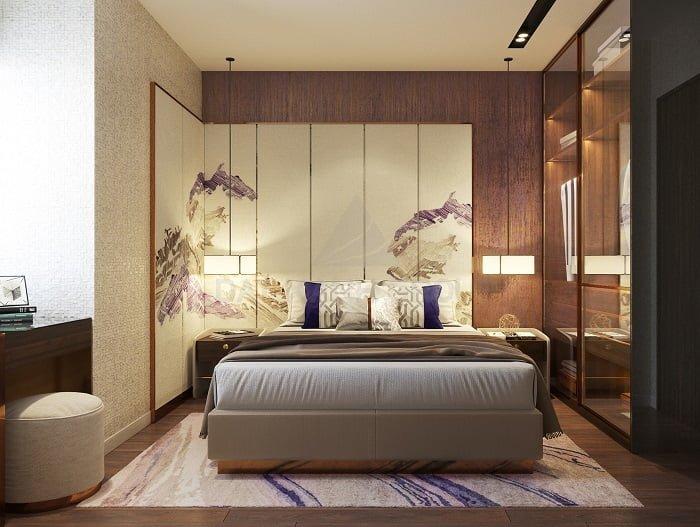 Phòng ngủ Master - Căn 3PN