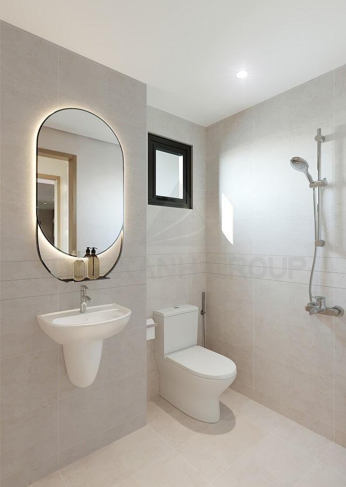 Phòng WC - căn 2PN | Opal Skyline