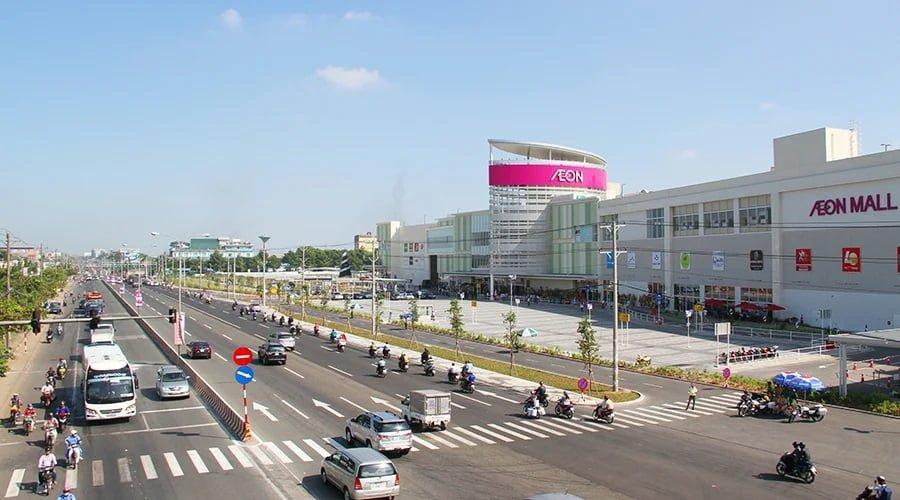 Trung tâm thương mại lớn nhất Bình Dương tại TP Thuận An