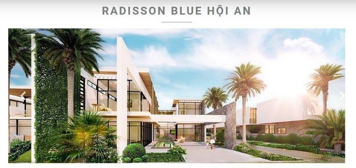 Dự án Radisson Blue Hội An
