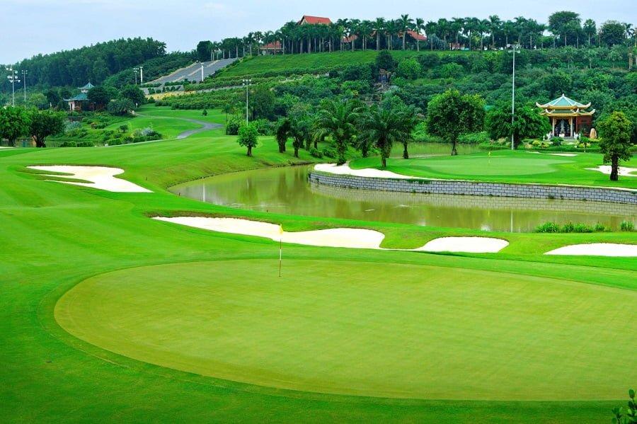 Sân Golf Sông Bé đạt chuẩn quốc tế