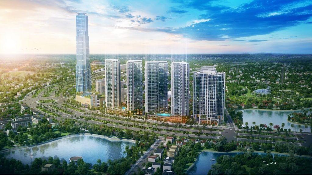 Phối cảnh dự án Eco Green Sài Gòn - Quận 7
