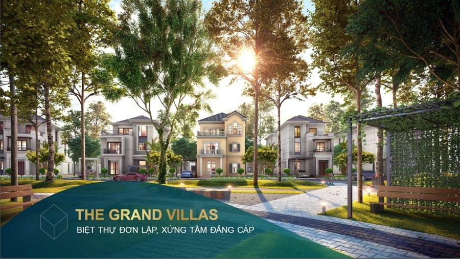 Phối cảnh phân khu The Grand Villas