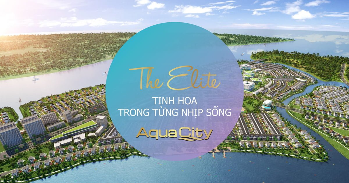 Phân khu The Elite - Aqua City