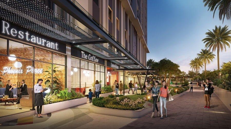 Với 24 căn Shophouse đẳng cấp ngay bên dưới sẽ giúp cho cư dân hoàn toàn thoải mái trong việc mua sắm cho bản thân và gia đình