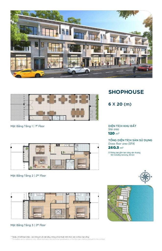 Shophouse The Elite 6x20m
