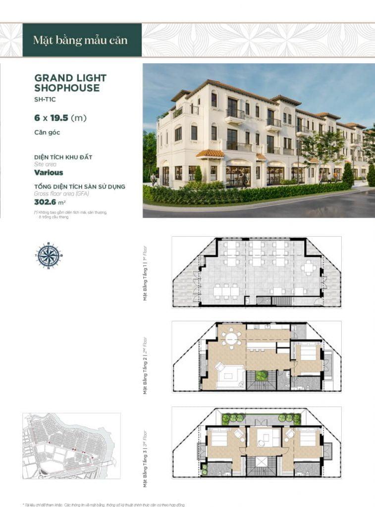 Grand Light Shophouse 6x19.5m (SH-T1C)