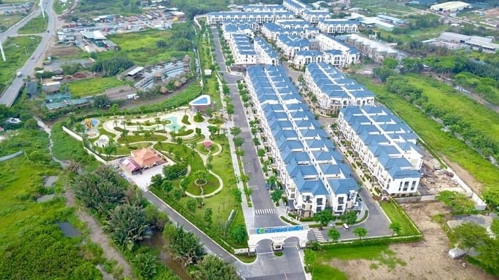 Hình ảnh thực tế Verosa Park vào tháng 08/2020