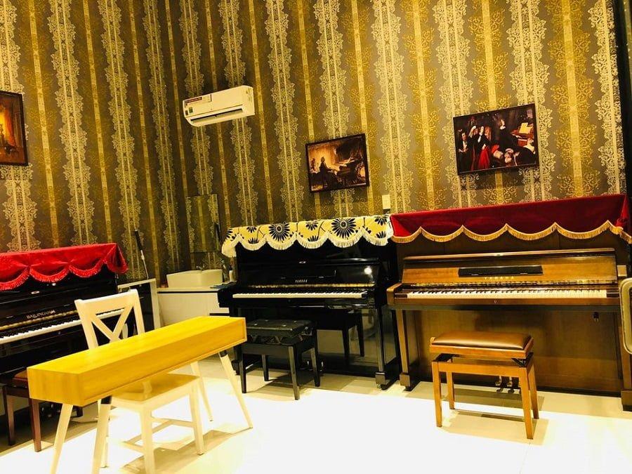 Một dịch vụ đẳng cấp khác vừa có mặt tại The Sun Avenue đó là lớp dạy nhạc, đàn,...