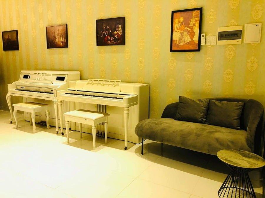 Giờ đây bạn có thể học đàn Piano, Guitar,...ngay tại The Sun Avenue