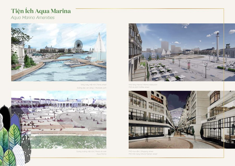 Tiện ích Aqua Marina