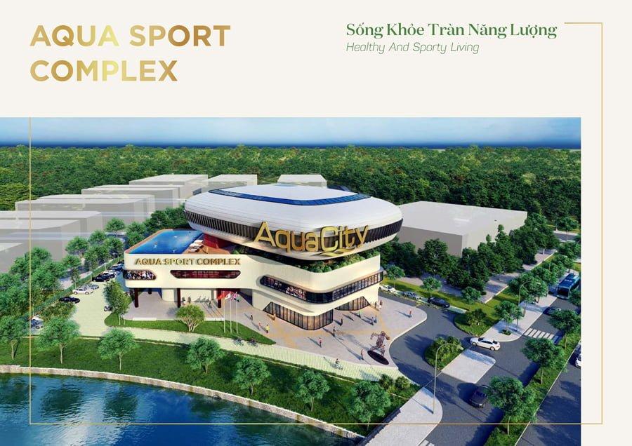 Sống khỏe tràn năng lượng tại Aqua Sport Complex