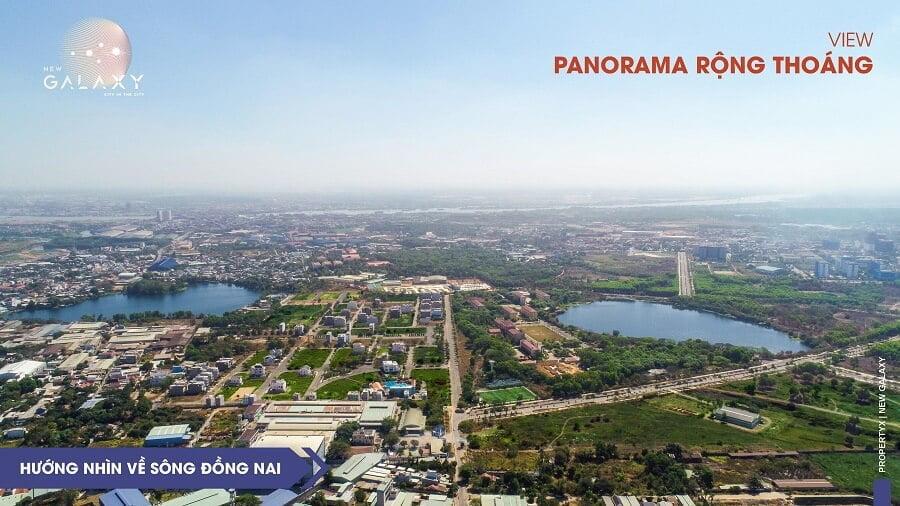 View sông Đồng Nai