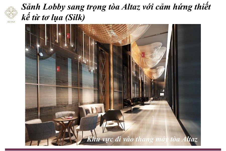 Sảnh chờ sang trọng riêng biệt của Altaz