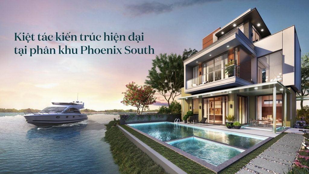 Lối kiến trúc nhà ở của The Phoenix