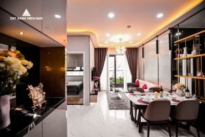 Nội thất căn hộ 2PN LDG Sky