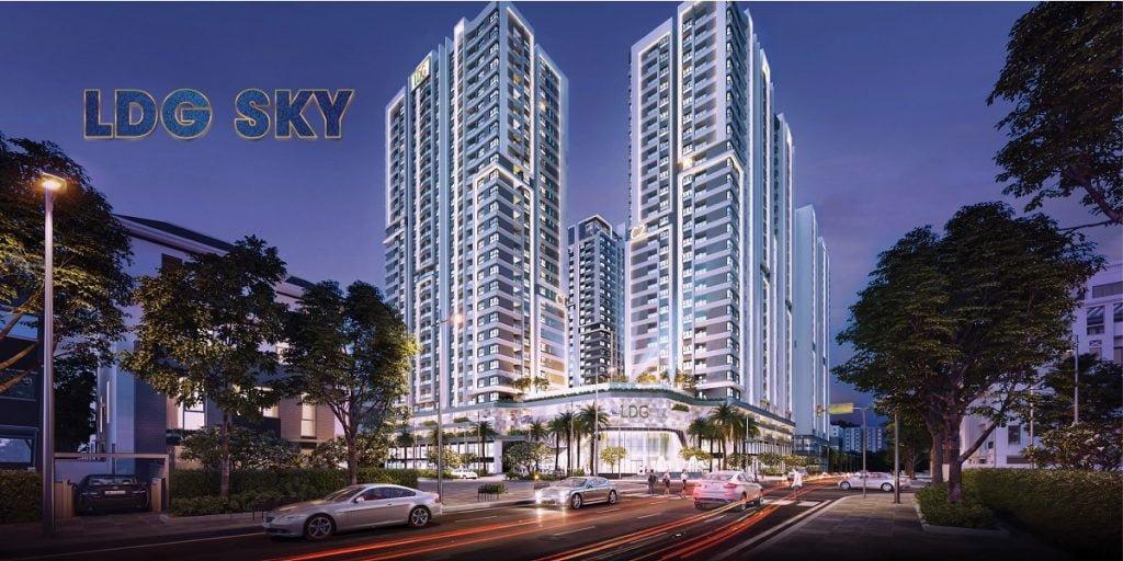 Dự án LDG Sky đẳng cấp với 4 tầng thương mại duy nhất khu vực