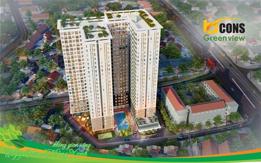 Dự án Bcons Green View