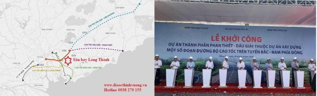 Các tuyến cao tốc kết nối với sân bay Quốc tế Long Thành