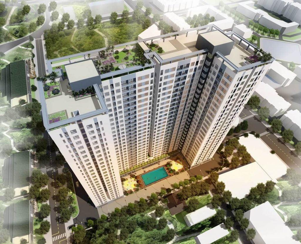 Phối cảnh dự án Bcons Miền Đông