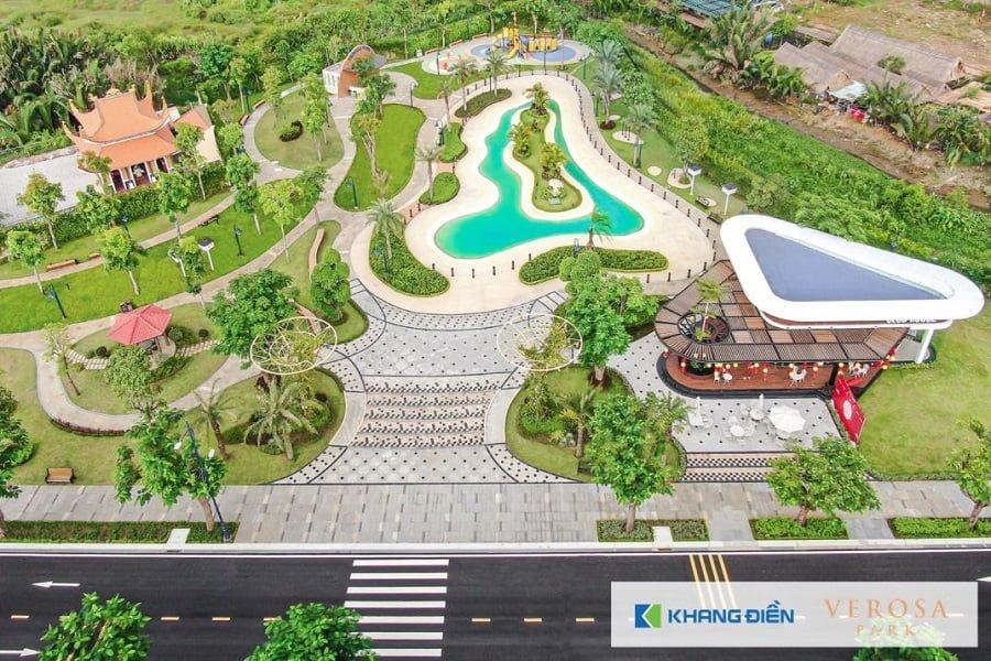 Tiến độ dự án mới nhất dự án Verosa Khang Điền