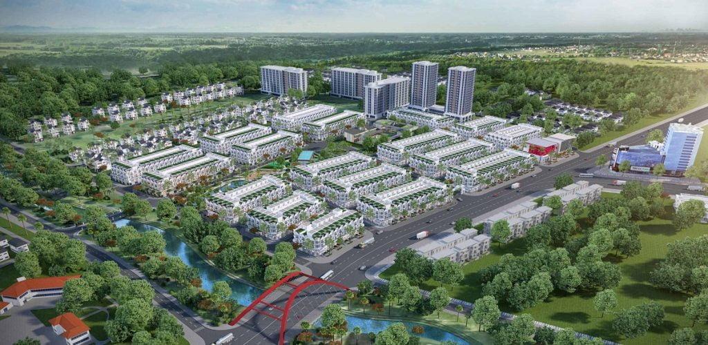 Tổng thể dự án Tiến Lộc Garden mặt tiền đường Nguyễn Văn Ký