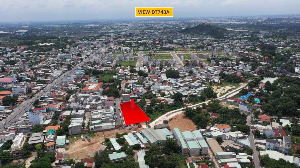 View đường DT743A