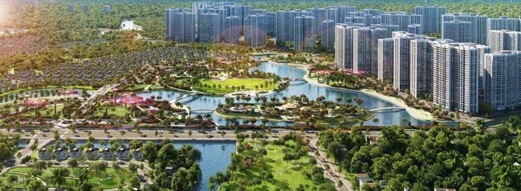 Đại công viên 36ha lớn nhất Đông Nam Á tại dự án Vinhomes Quận 9