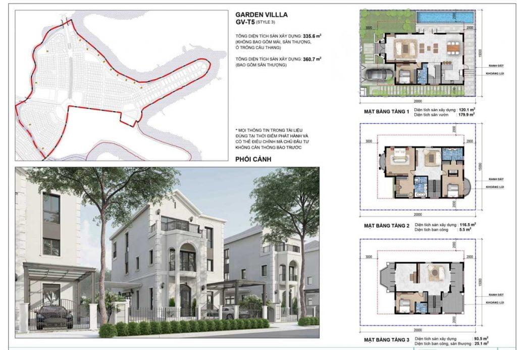 Grand Villa GV-T5 (Style 3)