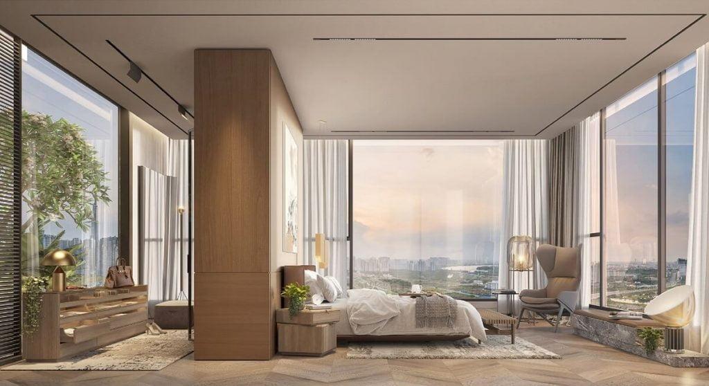 Nhà mẫu căn Penthouse