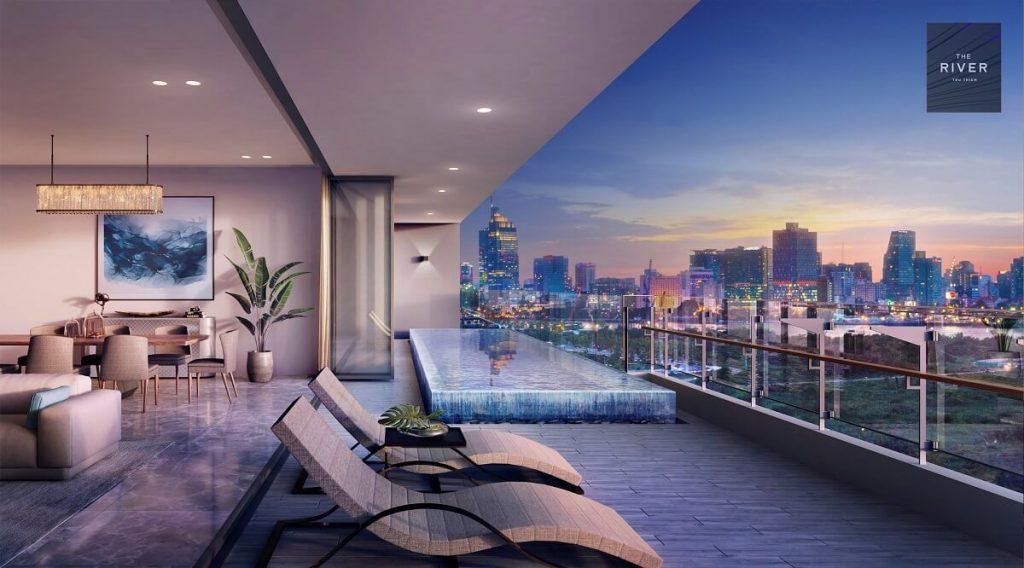 Nhà mẫu căn Pool Villa