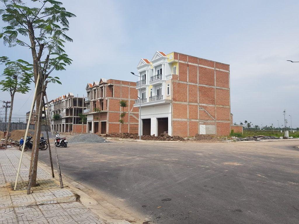 Hình ảnh dãy shophouse mặt tiền đường Nguyễn Văn Ký