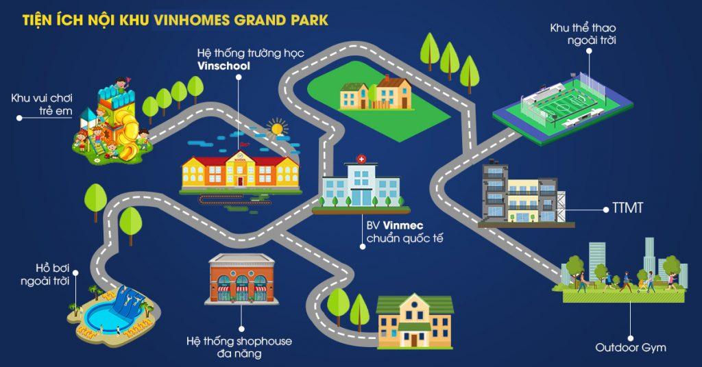 Chuỗi tiện ích nội khu đẳng cấp tại Vinhomes Quận 9