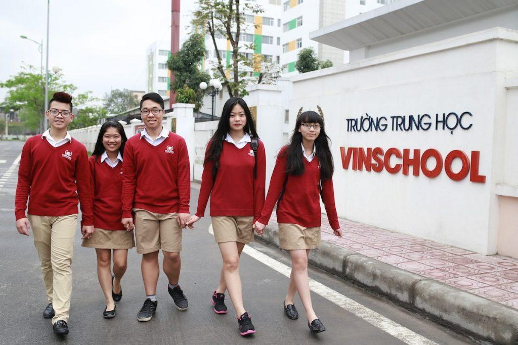 Trường học mang thương hiệu Vinschool