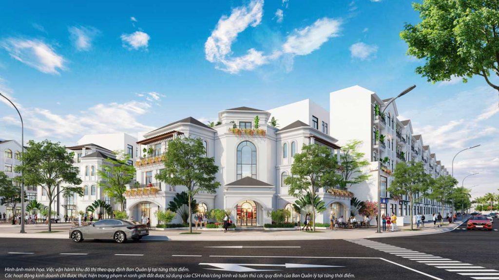 Kiến trúc thiết kế Shop Villa The Manhattan