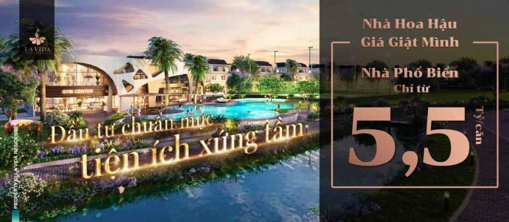 Giá bán nhà phố La Vida Residences