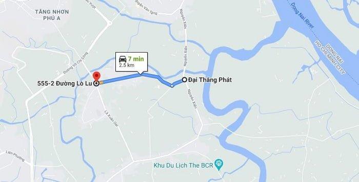 Đường Lò Lu cũng là những được quận 9 mở rộng trong thời gian tới