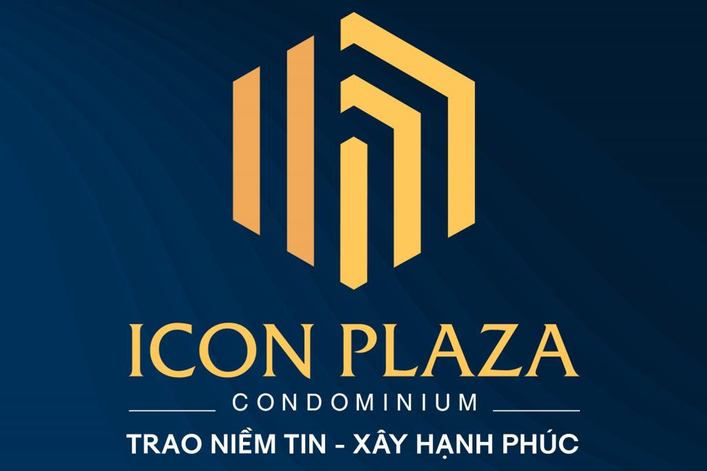 Logo và Slogan của dự án Icon Plaza