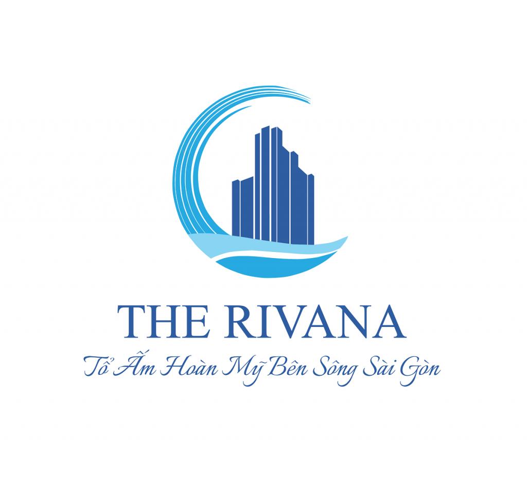 Logo nhận diện thương hiệu chính thức của dự án The Rivana