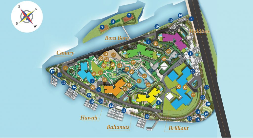 Mặt bằng tổng thể dự án Diamond Island - Đảo Kim Cương