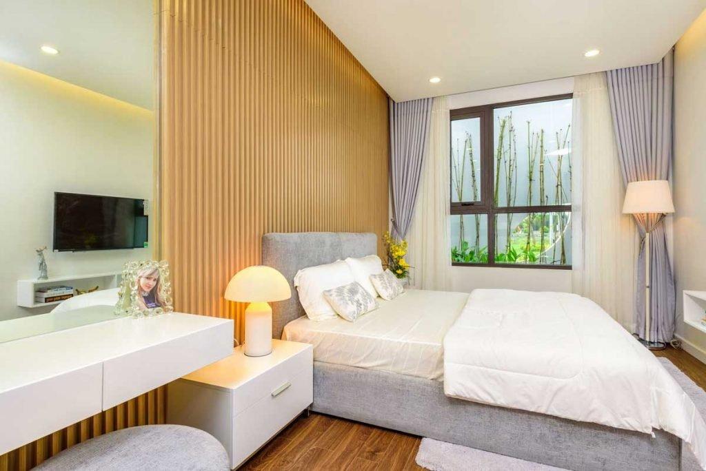 Căn hộ mẫu 2PN - Phòng ngủ chính