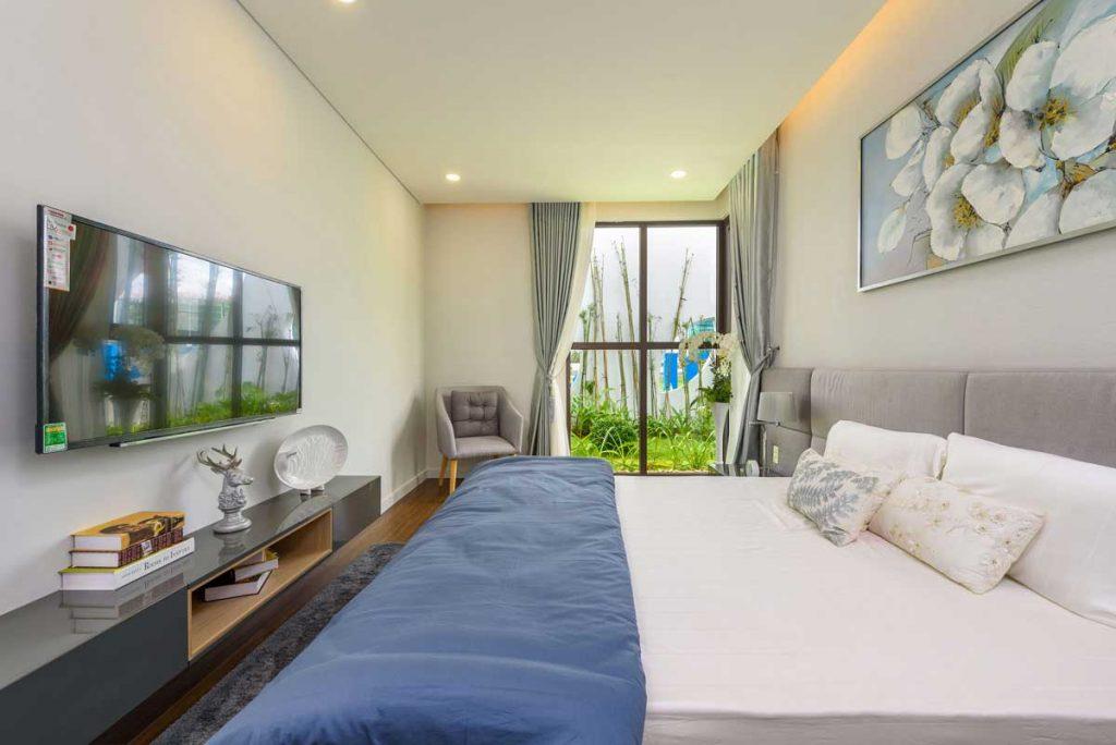 Căn hộ mẫu 3PN - Phòng ngủ chính