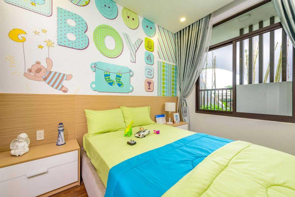 Căn hộ mẫu 3PN - Phòng ngủ Kid