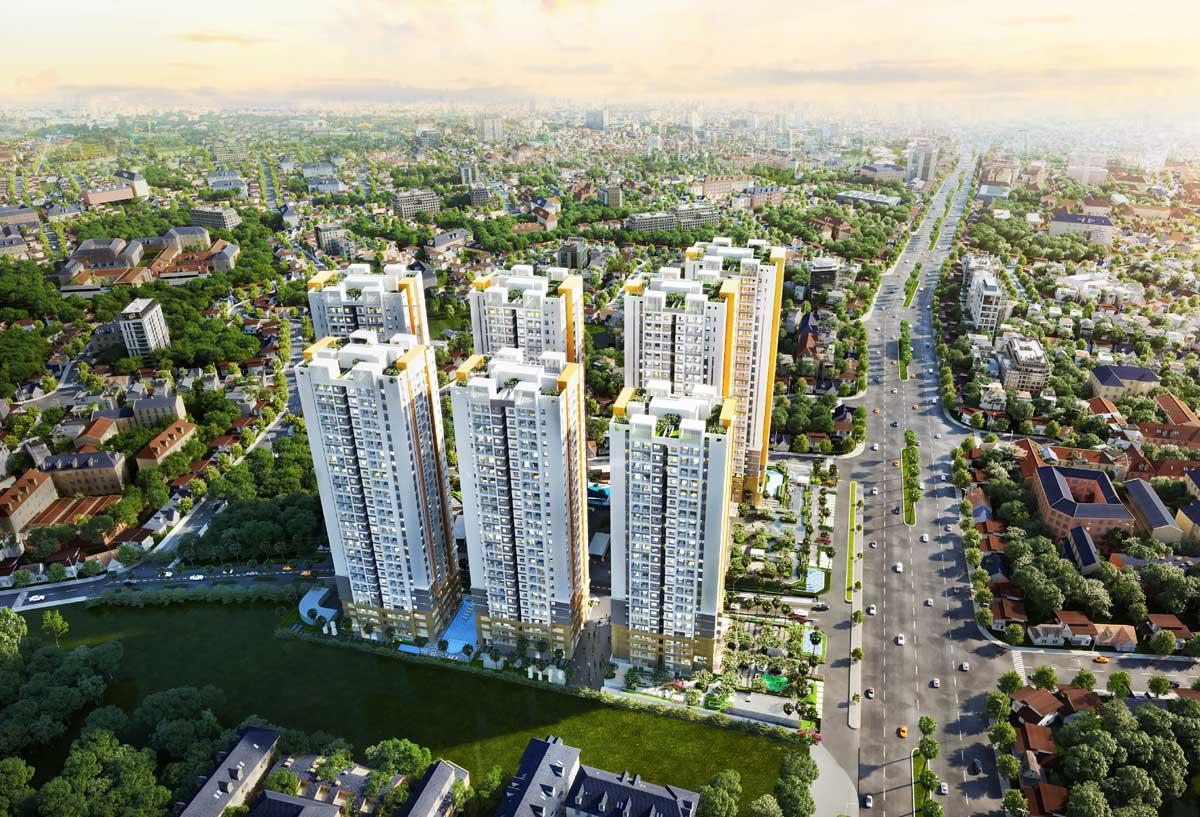 Phối cảnh dự án Biên Hòa Universe Complex
