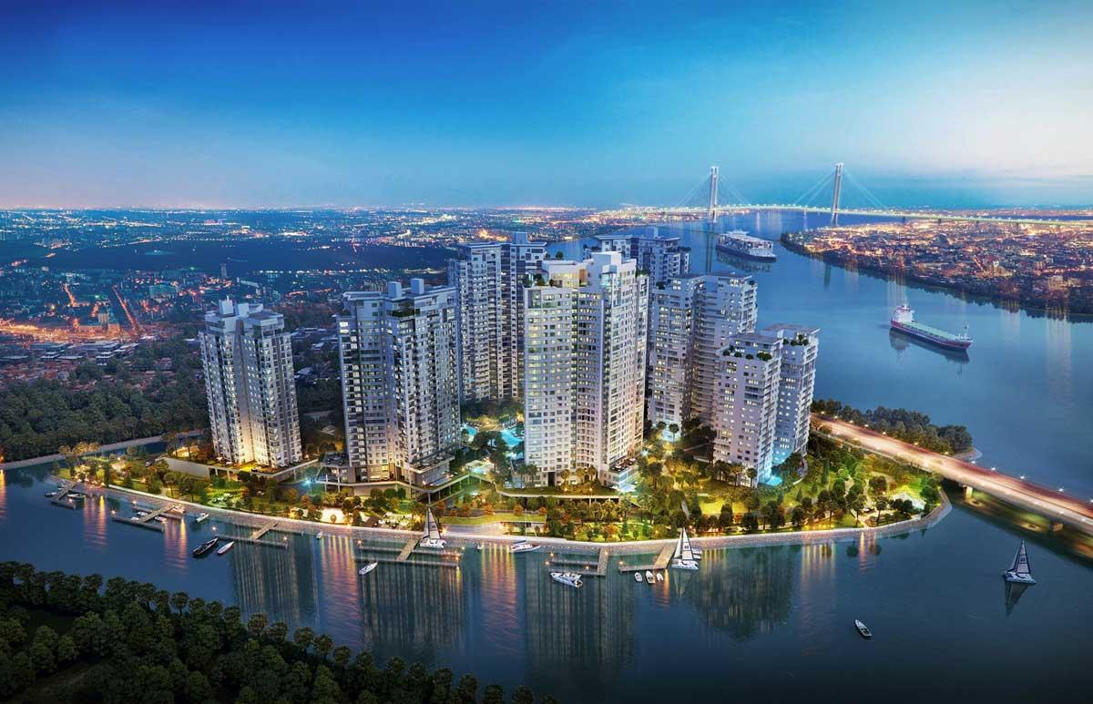 Phối cảnh dự án Diamond Island - Đảo Kim Cương