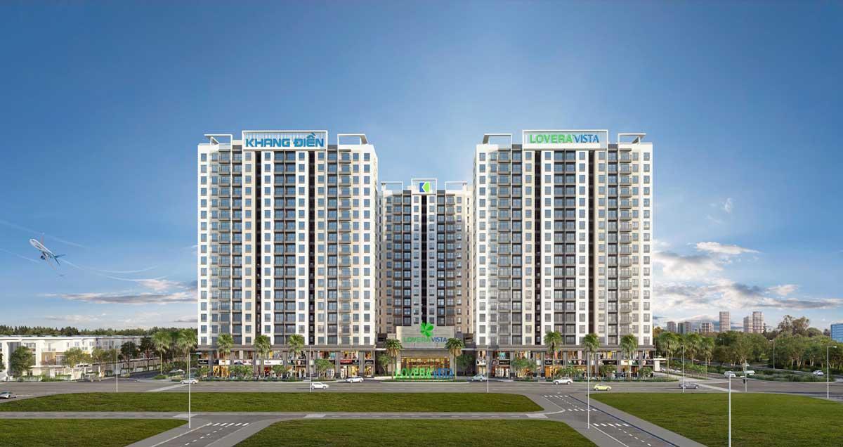 Phối cảnh dự án Lovera Vista Khang Điền