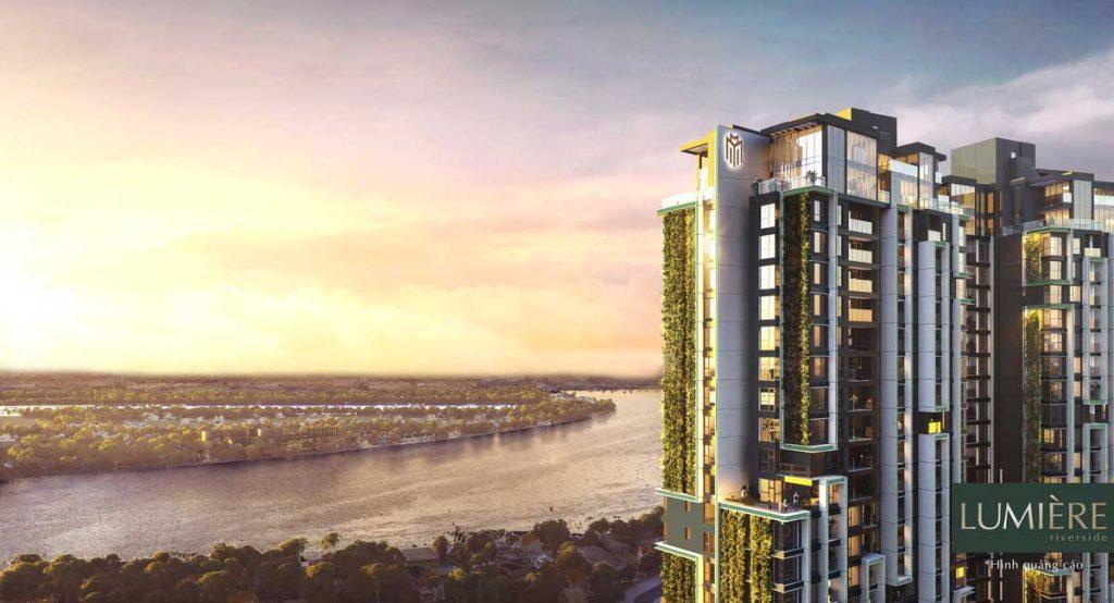 View sông Sài Gòn nhìn từ Lumière Riverside