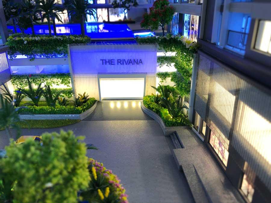 Sa bàn dự án The Rivana